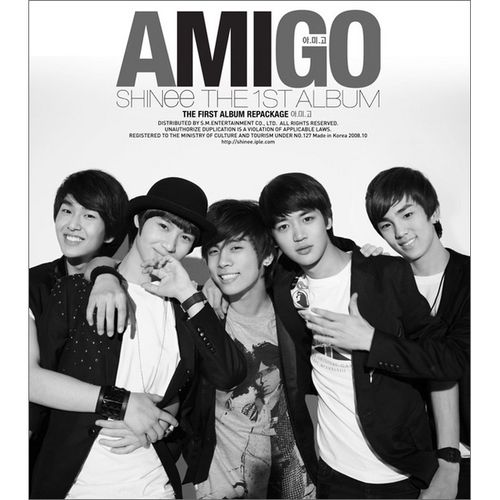 SHINee – The First Album AMIGO (Repackage)