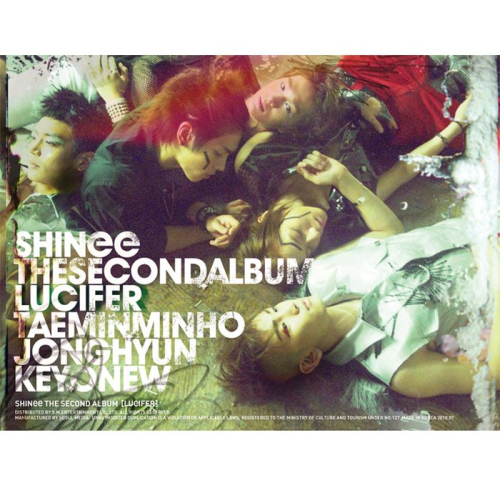 SHINee – The 2nd Album `Lucifer` (FLAC + ITUNES PLUS AAC M4A)