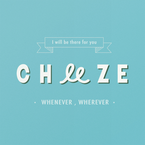 [Single] CHEEZE – 'll Be There For You