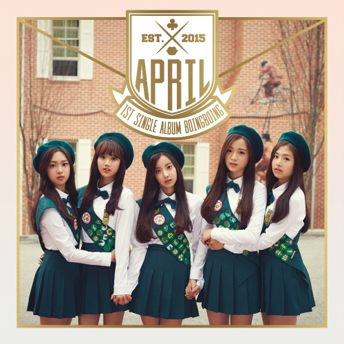 [Single] APRIL – APRIL 1st Single Album `Boing Boing` (ITUNES PLUS AAC M4A)