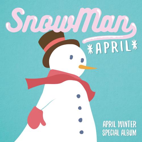 [Single] APRIL – APRIL Winter Special Album `Snowman` (ITUNES PLUS AAC M4A)