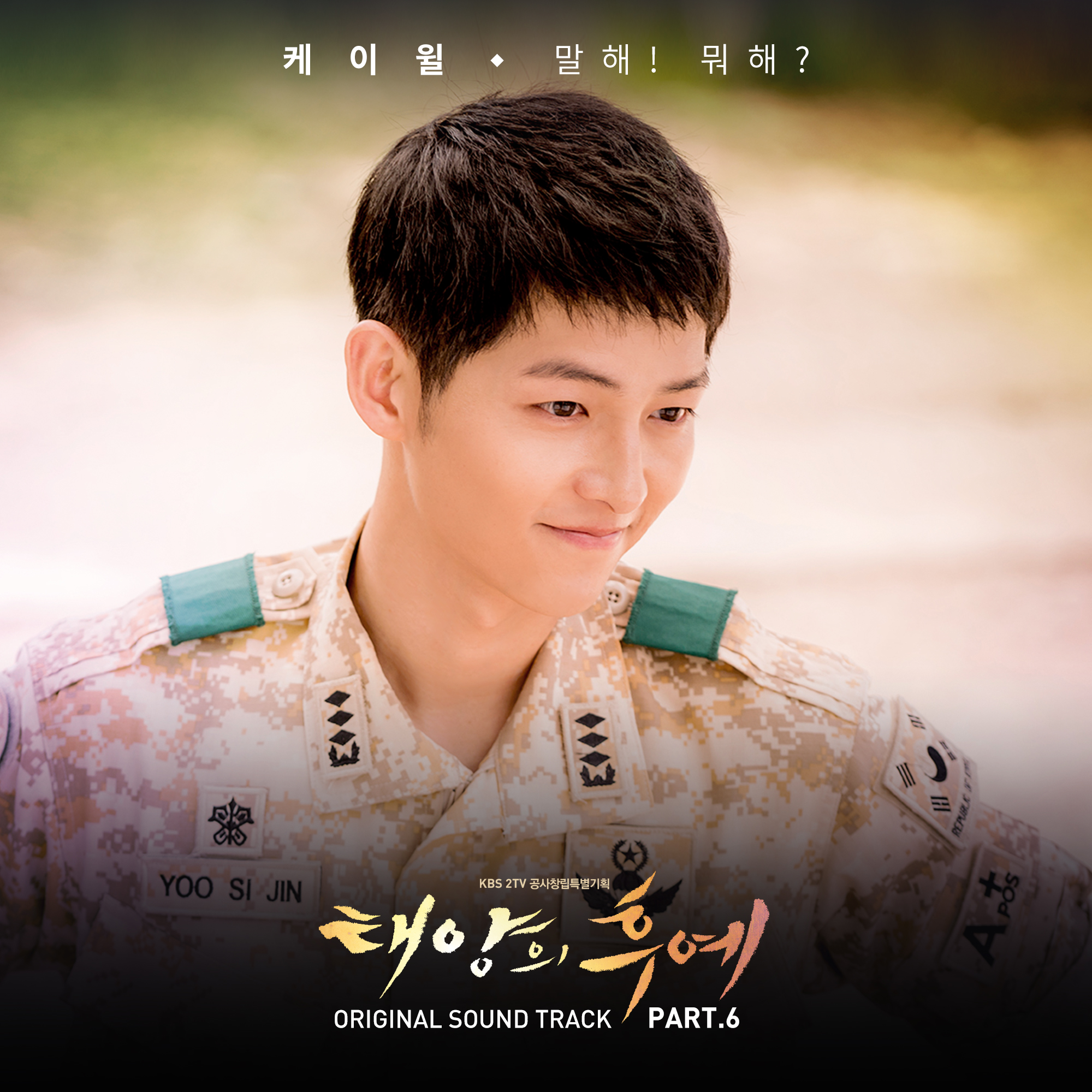 K.Will - Descendants of The Sun OST Part.6 - Say it! What Are You Doing? K2Ost free mp3 download korean song kpop kdrama ost lyric 320 kbps