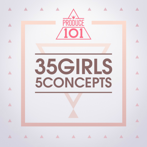 Various Artists – PRODUCE 101 – 35 Girls 5 Concepts (ITUNES PLUS AAC M4A)